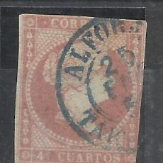 Selos: ISABEL II 1855 EDIFIL 48 FECHADOR ALFORJA TARRAGONA. Lote 262164650