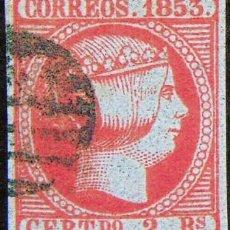 Sellos: EDIFIL 19 SELLOS ESPAÁ 1853 ISABEL II REPRODUCCIONES DE LUJO FALSO FILATELICO. Lote 262443780