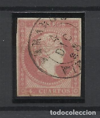 ISABEL II EDIFIL 48 FECHADOR DURANGO VIZCAYA (Sellos - España - Isabel II de 1.850 a 1.869 - Usados)