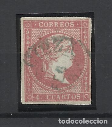 ISABEL II EDIFIL 48 FECHADOR CIEZA MURCIA (Sellos - España - Isabel II de 1.850 a 1.869 - Usados)