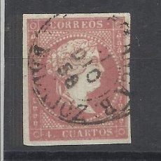Sellos: ISABEL II EDIFIL 48 FECHADOR VILLAFRANCA DE LOS BARROS. Lote 262887335