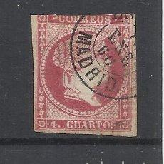 Sellos: ISABEL II EDIFIL 48 TIPO III FECHADOR MADRID. Lote 262888815