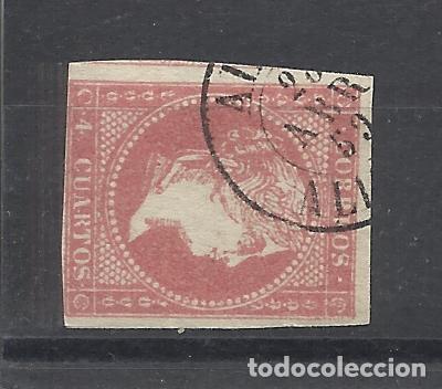 ISABEL II EDIFIL 48 FECHADOR ALCOI ALICANTE (Sellos - España - Isabel II de 1.850 a 1.869 - Usados)