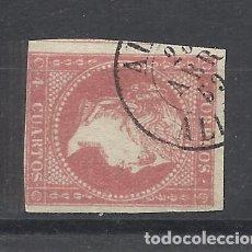 Sellos: ISABEL II EDIFIL 48 FECHADOR ALCOI ALICANTE. Lote 262891495