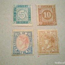 Sellos: 93/6 * CIFRAS E ISABEL II EN MUY BUEN ESTADO. Lote 264105960