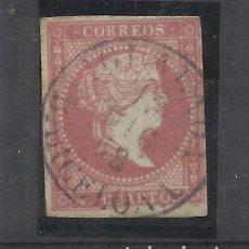 Francobolli: ISABEL II EDIFIL 48 FECHADOR IGUALADA BARCELONA. Lote 265139044