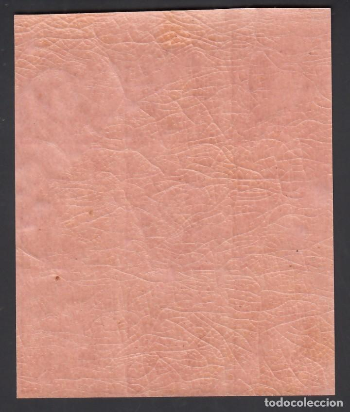 Sellos: ESPAÑA, 1864 EDIFIL Nº 64 /**/, 4 cu. roso s, salmon, Bloque de nueve, SIN FIJASELLOS - Foto 2 - 266945334