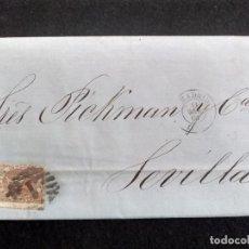 Francobolli: CARTA CIRCULADA MADRID-SEVILLA, AÑO 1868. Lote 267460739