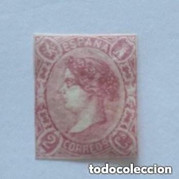 ESPAÑA - 1865 - ISABEL II - EDIFIL 69 - MH* - NUEVO - VALOR CATALOGO 430€. (Sellos - España - Isabel II de 1.850 a 1.869 - Nuevos)