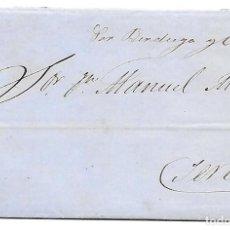 Sellos: COSARIO BERDUGO ENVUELTA CIRCULADA DE CADIZ A JEREZ 1861. Lote 267730814