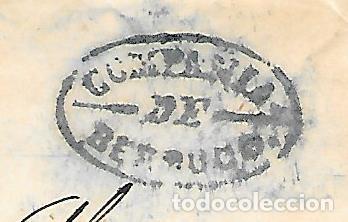 Sellos: COSARIO BERDUGO ENVUELTA CIRCULADA DE CADIZ A JEREZ 1856 - Foto 2 - 267731114