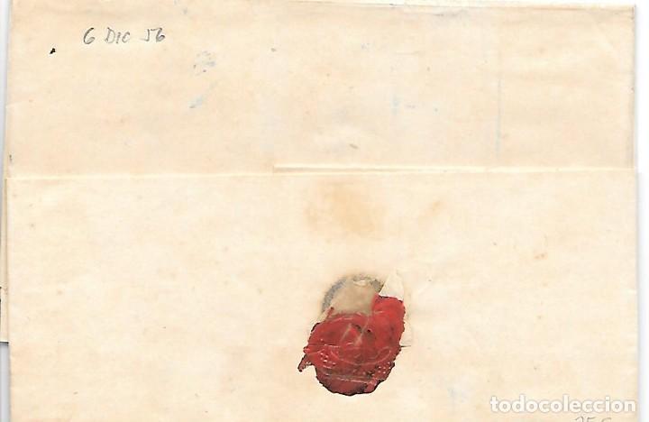Sellos: COSARIO BERDUGO ENVUELTA CIRCULADA DE CADIZ A JEREZ 1856 - Foto 3 - 267731114
