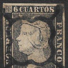 Sellos: ESPAÑA 1850 EDIFIL 1 USADO - 19/22. Lote 270982293