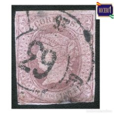 Francobolli: ESPAÑA 1864. EDIFIL 66. ISABEL II. 19 CU. USADO. Lote 272124768