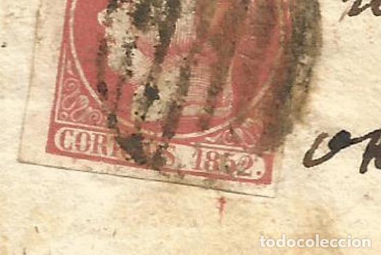 Sellos: CARTA EDIFIL 12 itb GALICIA PORRIÑO - Foto 2 - 275683348