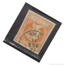 Selos: AÑO 1860 EDIFIL 52 4C ISABEL II MATASELLOS VICH BARCELONA TIPO II. Lote 275698503