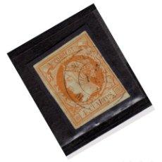 Selos: AÑO 1860 EDIFIL 52 4C ISABEL II MATASELLOS ANTEQUERA MALAGA TIPO II. Lote 275700703