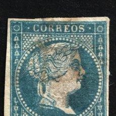 Selos: EDIFIL 41 SELLOS ESPAÑA AÑO 1855 ISABEL II USADOS. Lote 275940173