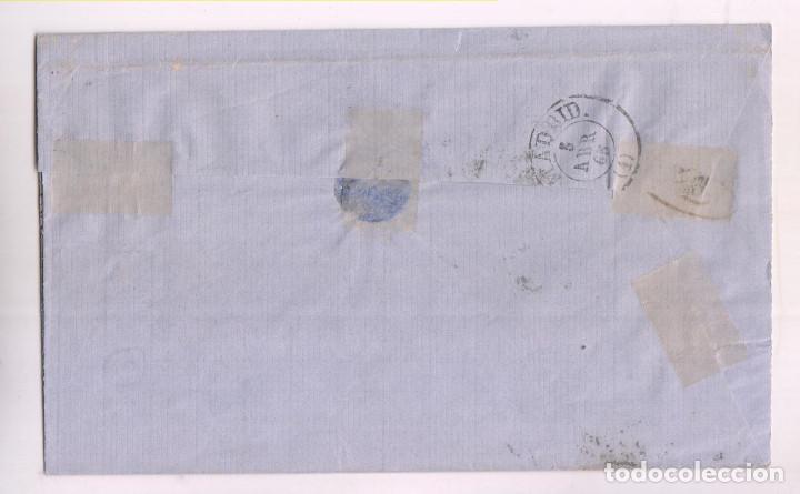 Sellos: ENVUELTA. SANTANDER, CANTABRIA. 1865. RUEDA DE CARRETA - Foto 2 - 277845888