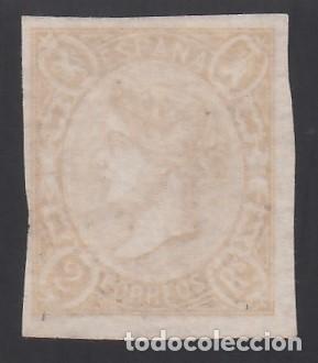 ESPAÑA. 1865 EDIFIL Nº 73A (*), 2 R. SALMÓN. (Sellos - España - Isabel II de 1.850 a 1.869 - Nuevos)