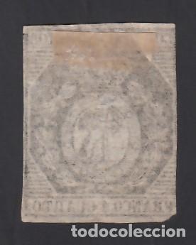 Sellos: ESPAÑA. 1853 EDIFIL Nº 22 (*), 1 cu. bronce - Foto 2 - 286781543