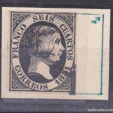 Timbres: BB11- CLÁSICOS EDIFIL 6 . VARIEDAD CLICHÉ. USADO. PERFECTO. Lote 287048788