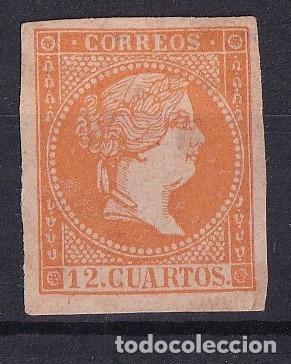 SELLOS ESPAÑA AÑO 1955 OFERTA EDIFIL NE 1 EN NUEVO VALOR DE CATALOGO 215 € (Sellos - España - Isabel II de 1.850 a 1.869 - Nuevos)
