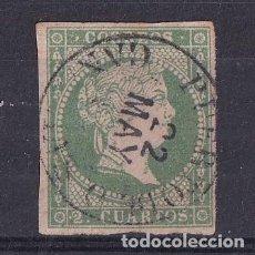 Sellos: SELLOS ESPAÑA AÑO 1855 OFERTA EDIFIL 47 MATASELLOS FECHADOR OROTAVA VALOR DE CATALOGO 69 €. Lote 287231493
