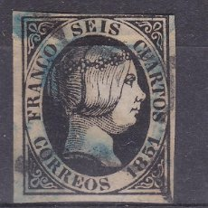 Sellos: BB18- CLÁSICOS EDIFIL 6 MATASELLOS DOBLE ARAÑA AZUL Y NEGRA. Lote 287398518
