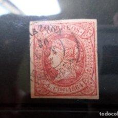 Sellos: 1864, ISABEL II, EDIFIL 64. Lote 288022228