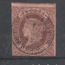 Sellos: ISABEL II FECHADOR EZCARAY LOGROÑO. Lote 288443463