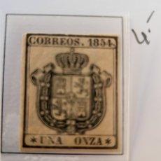 Sellos: SELLO DE ESPAÑA 1954 ESCUDO DE ESPAÑA UNA ONZA EDIFIL 29 NUEVO. Lote 289618953