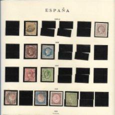 Sellos: ESPAÑA 1860,61,62,64,65. Lote 289681473