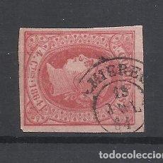 Sellos: ISABEL II FECHADOR MIERES OVIEDO ASTURIAS. Lote 291994903