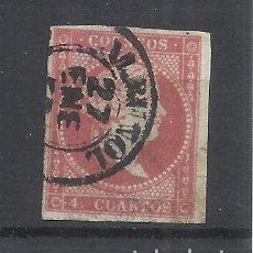 Sellos: ISABEL II FECHADOR ALBUÑOL GRANADA. Lote 292163703