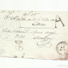 Sellos: ENVUELTA CIRCULADA 1867 DE JUZGADO DE TUDELA A ALCALDE VILLA CORTES. Lote 292358533