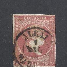 Sellos: ISABEL II FECHADOR ALCALA MADRID. Lote 294435478