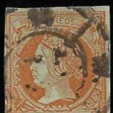 Sellos: REINADO DE ISABEL II - EDIFIL Nº 52 - 1855. Lote 294953618