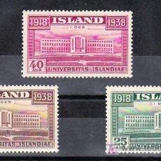Sellos: ISLANDIA 168/70 SIN CHARNELA, 20º ANIVERSARIO DE LA INDEPENDENCIA DE ISLANDIA, . Lote 11918214