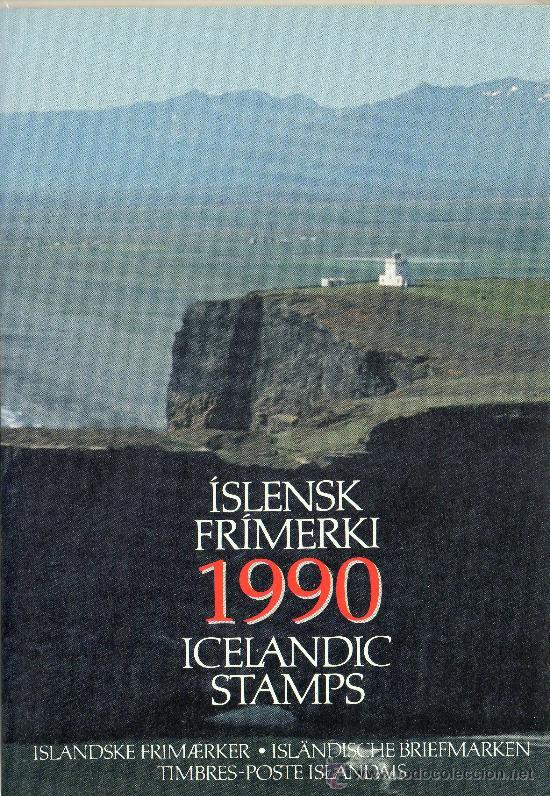 Sellos: ISLANDIA AÑO 1990 COMPLETO YV 714/37*** + HB 11*** CZ SLANIA - Foto 2 - 26335511