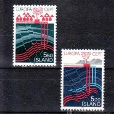 Sellos: ISLANDIA 551/2 SIN CHARNELA, TEMA EUROPA 1983, GRANDES OBRAS DE LA HUMANIDAD, . Lote 10558585