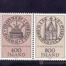 Sellos: ISLANDIA 541/2 SIN CHARNELA, NORDIA 84, EXPOSICION FILATELICA NORDICA EN REYKJAVIK, . Lote 10558605