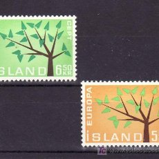 Sellos: ISLANDIA 319/20 SIN CHARNELA, TEMA EUROPA 1962. Lote 10558704