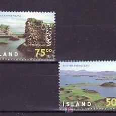 Sellos: ISLANDIA 866/7 SIN CHARNELA, TEMA EUROPA 1999, RESERVAS Y PARQUES NACIONALES, . Lote 11441651