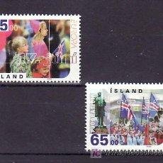 Sellos: ISLANDIA 839/40 SIN CHARNELA, TEMA EUROPA 1998, FIESTAS POPULARES, . Lote 10558325