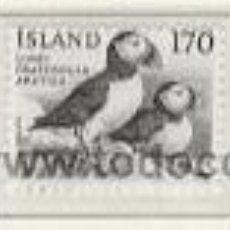 Sellos: ISLANDIA 1980 - FAUNA - PAJAROS Y PECES - YVERT 511/513. Lote 15726813