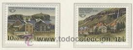 ISLANDIA 1986 - VILLAS ISLANDESAS - YVERT 603/04 (Sellos - Extranjero - Europa - Islandia)