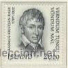Sellos: ISLANDIA 1987 - DEFENSOR DE LA LENGUA ISLANDESA - YVERT 620. Lote 15760988