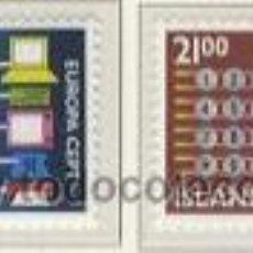 Sellos: ISLANDIA 1988 - EUROPA CEPT - YVERT 635/636. Lote 25180445