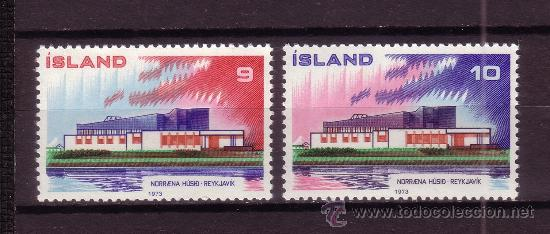 ISLANDIA 431/32*** - AÑO 1973 - NORDEN 73 (Sellos - Extranjero - Europa - Islandia)